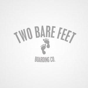 """Two Bare Feet """"The Deacon"""" 40in Bamboo Series Longboard Skateboard Complete (Blue Wheels)"""