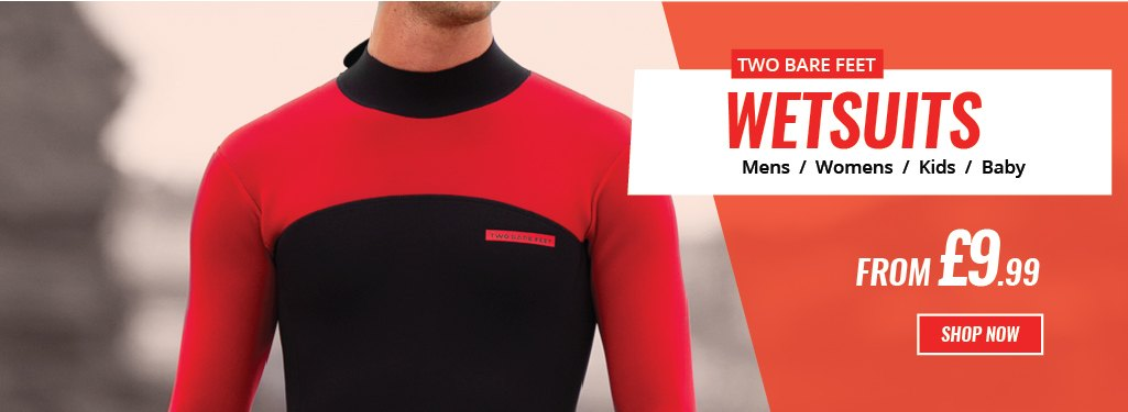 Two Bare feet Wetsuits from just £9.99