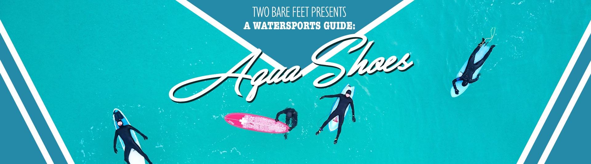Aqua shoes banner