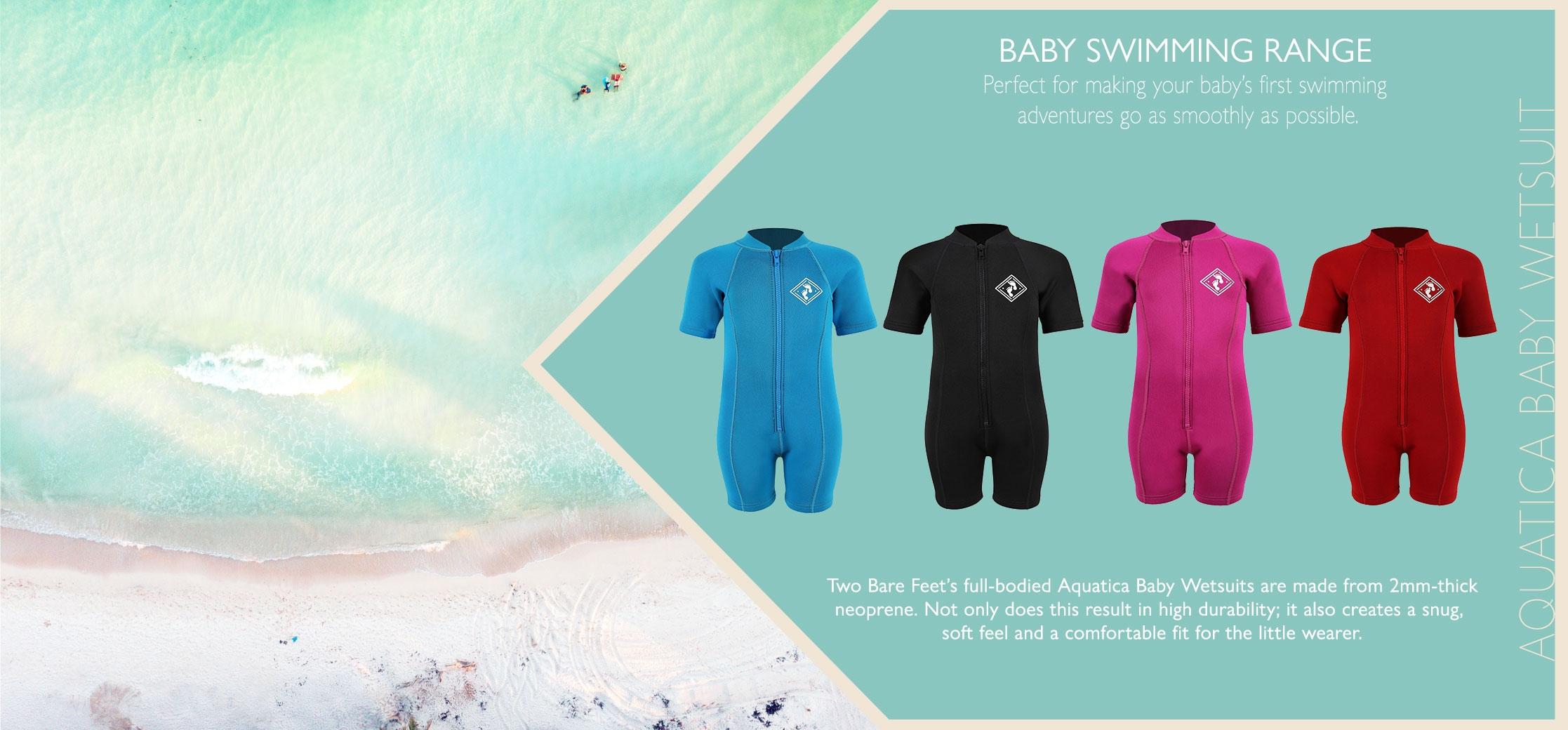 Aquatica baby wetsuit info