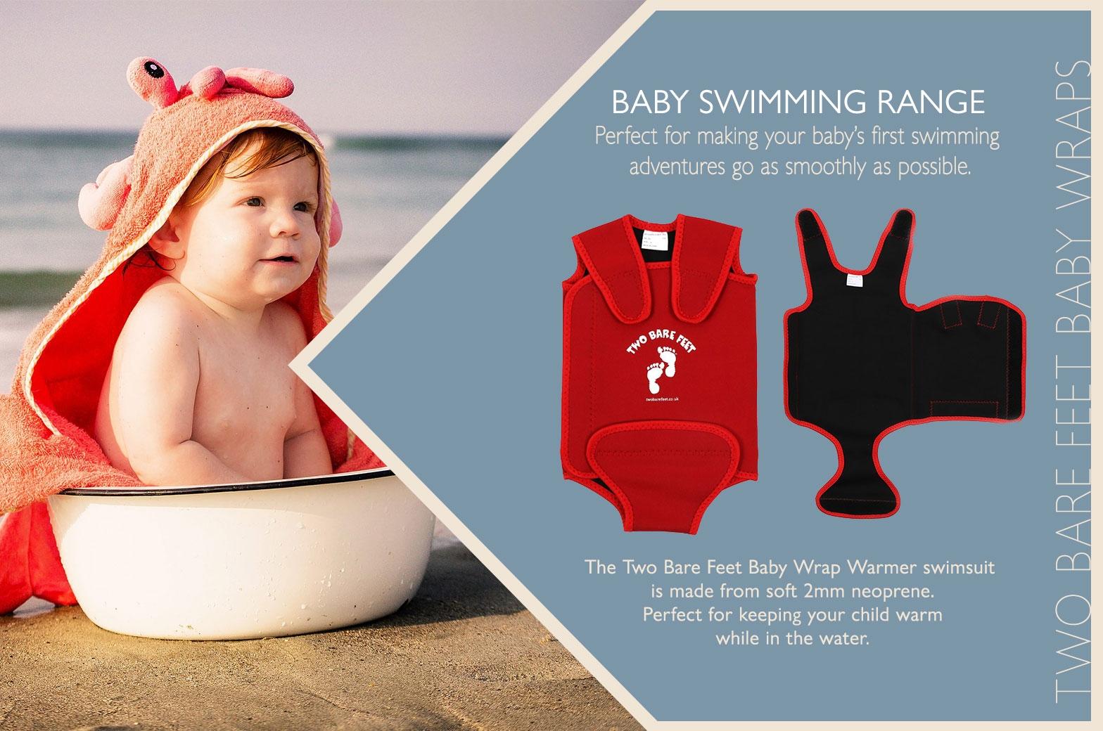 Warm baby swim wrap info