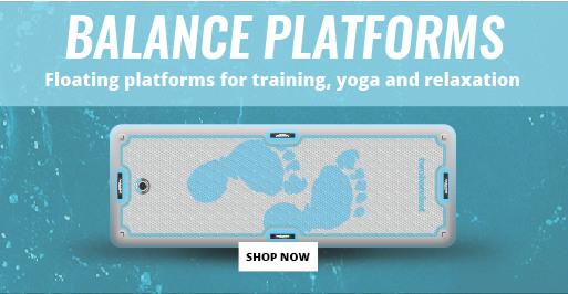 Inflatable Yoga Balance Platform SUPs at Two Bare Feet