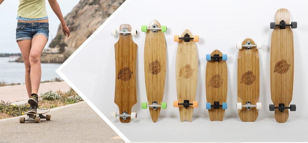 Bamboo series longboard variations