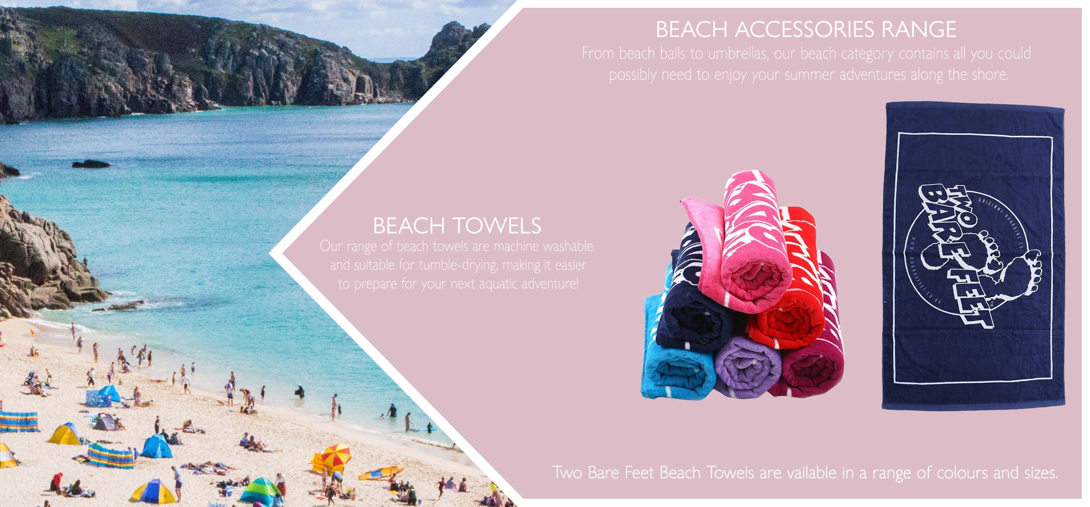 Beach towels information