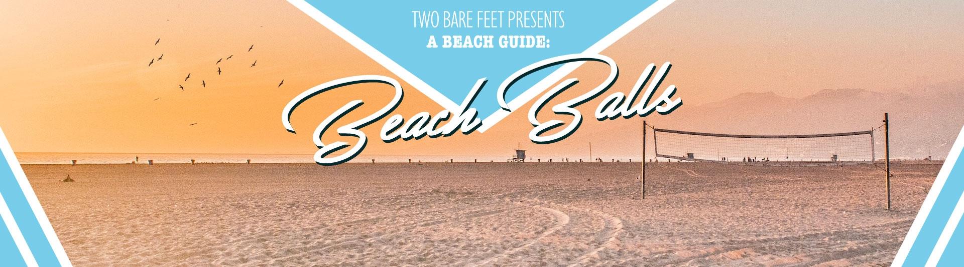 beach balls banner
