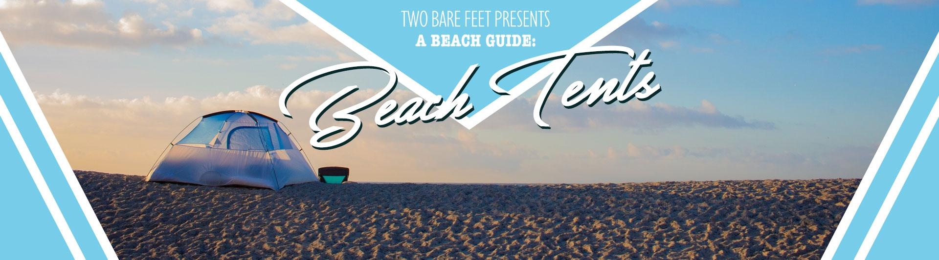 beach tent banner