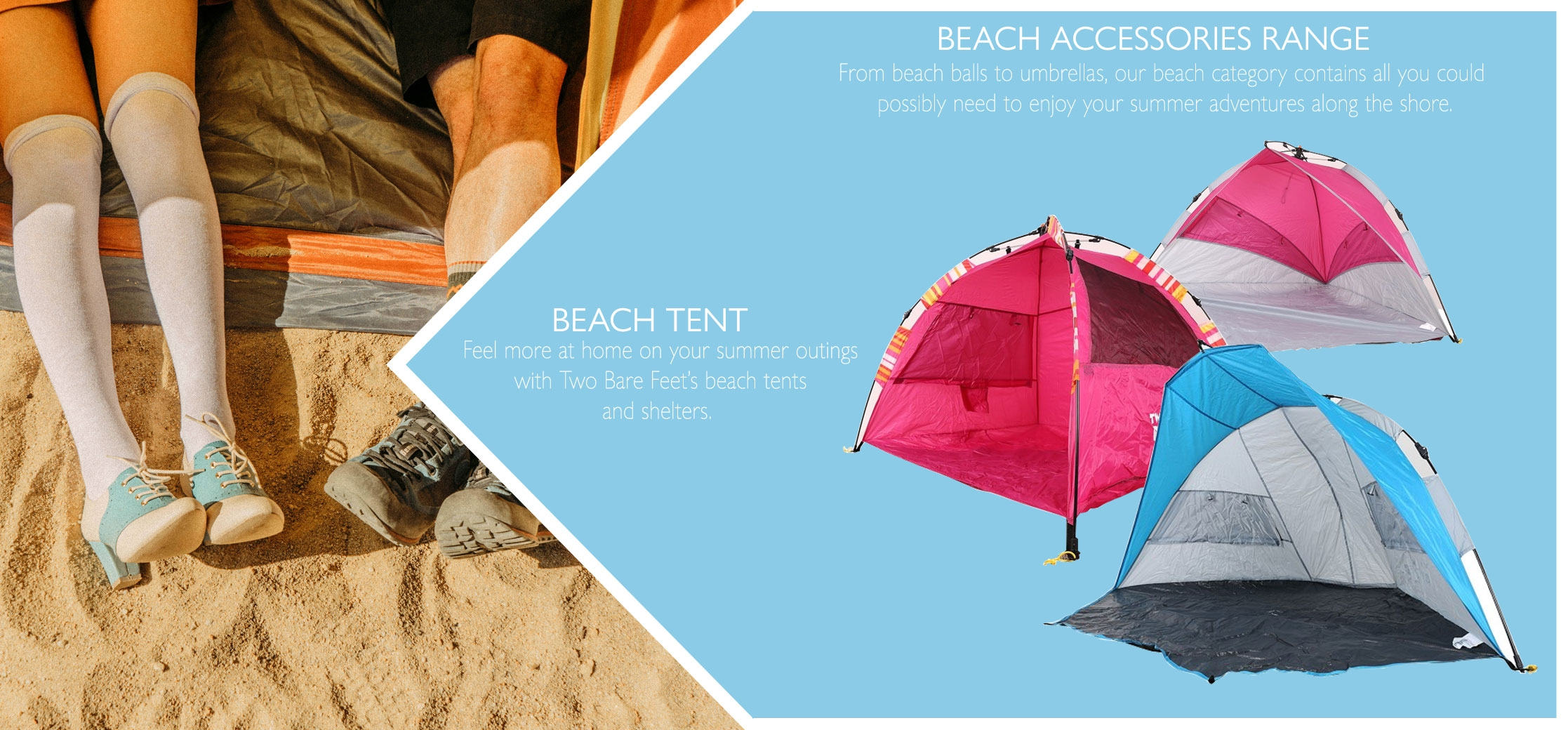 festival and beach pop up tent