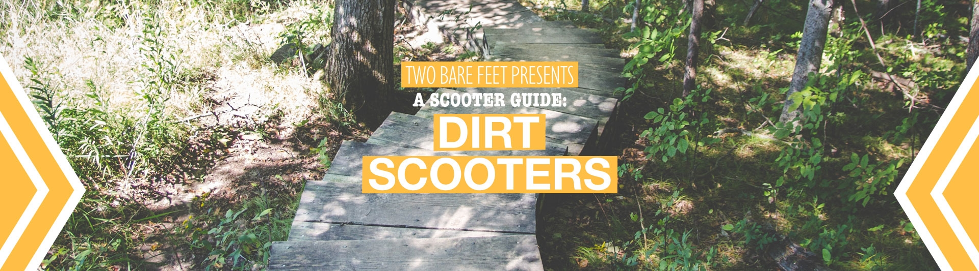 Dirt scooters banner