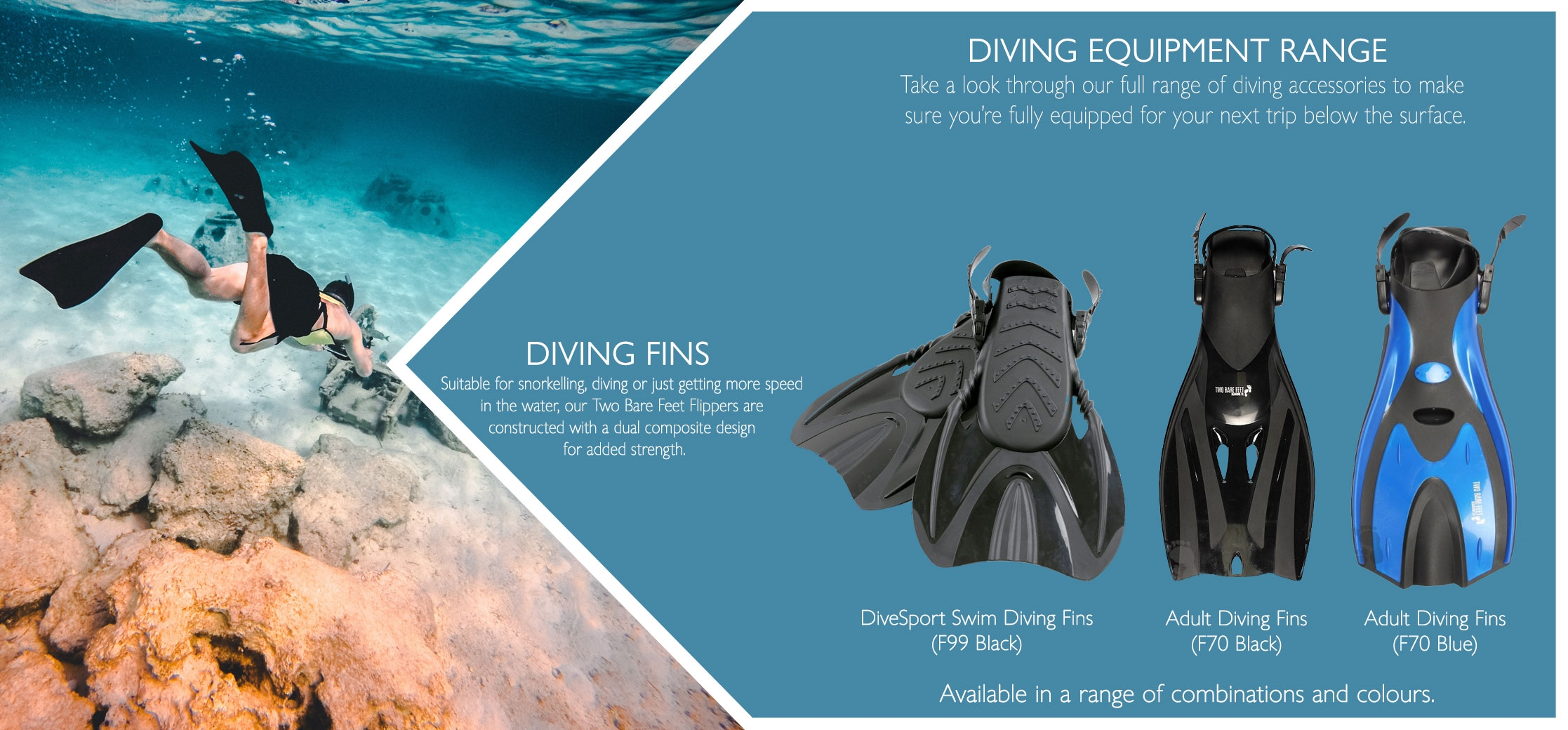 Diving Fins variations