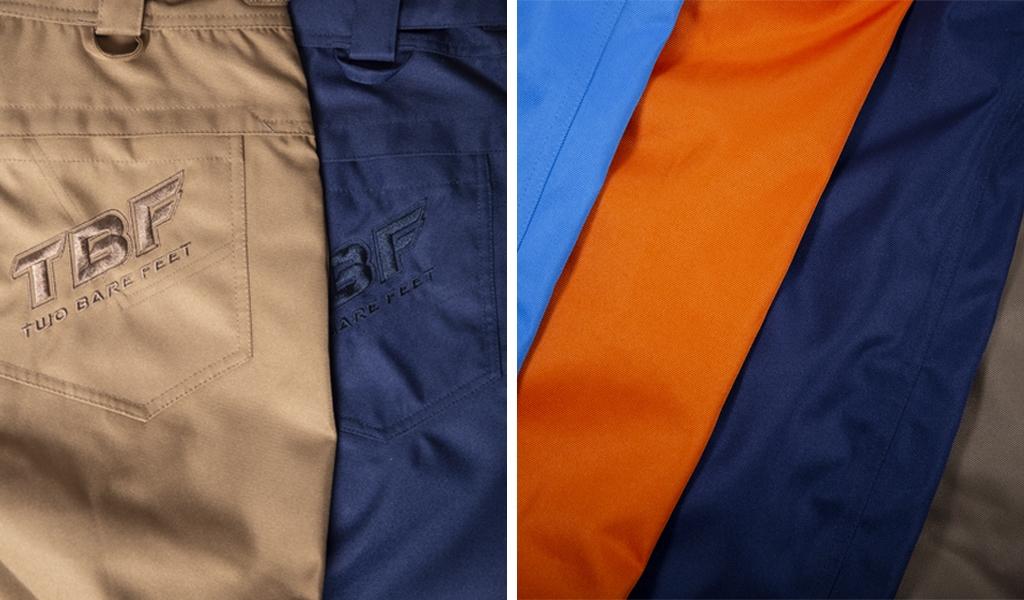 Women's snow pants in multiple colours