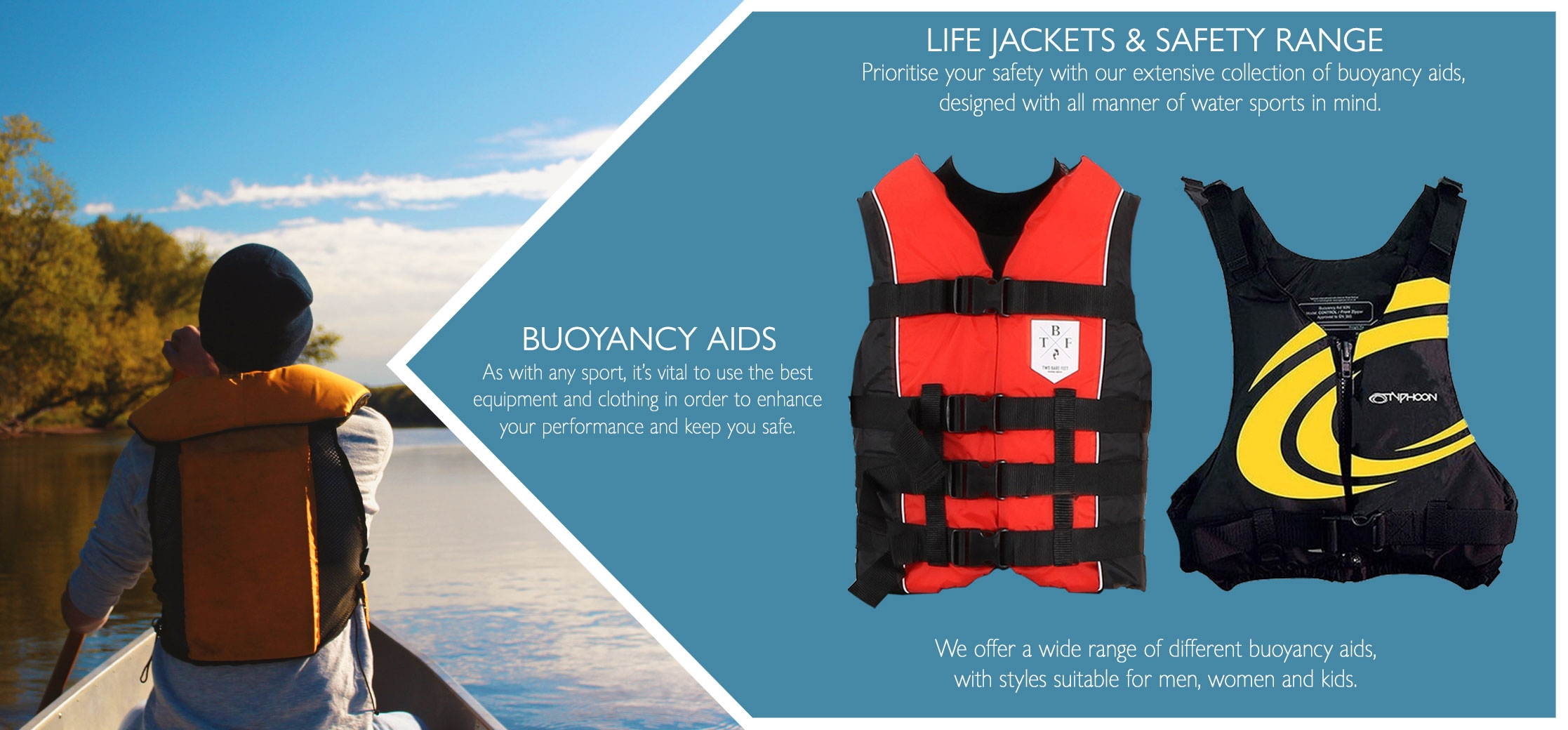 Life jackets and safety information