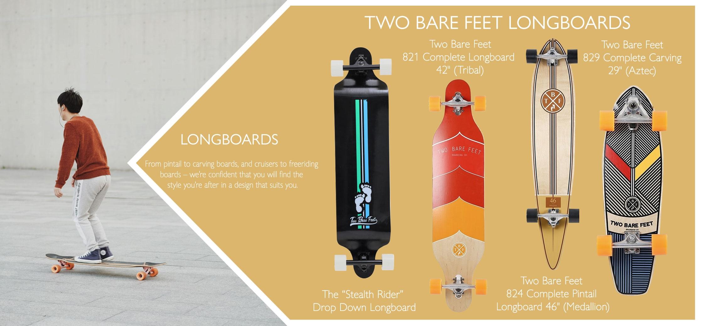 longboard variations