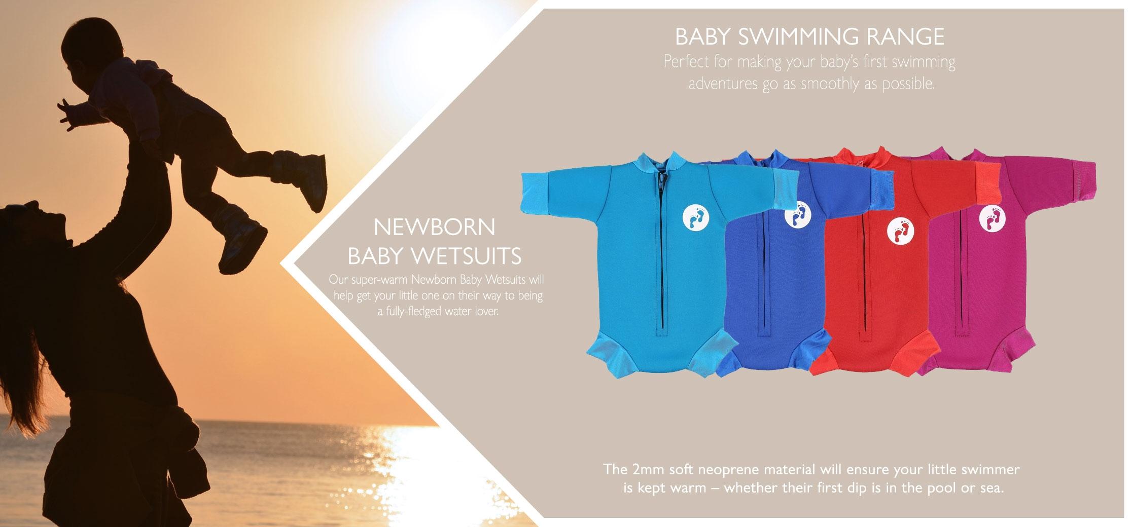 newborn baby wetsuit variations