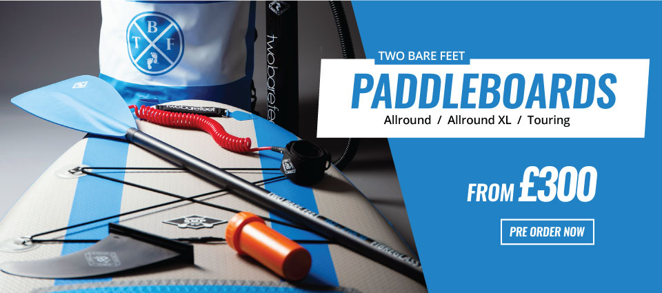 Two Bare Feet Paddleboards from just £300