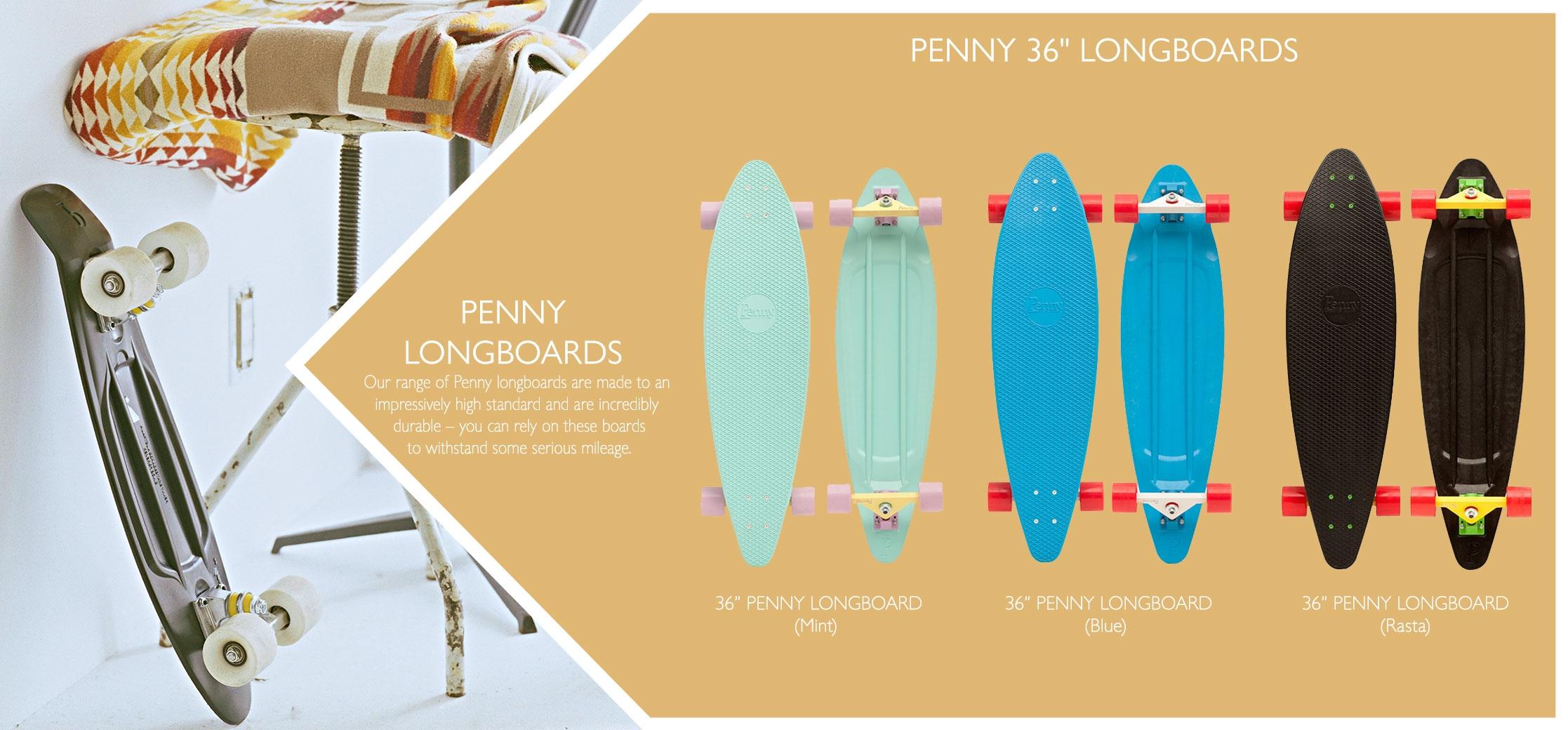 Penny longboard info