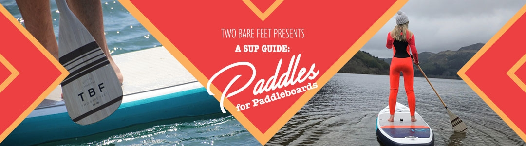 SUP paddle banner