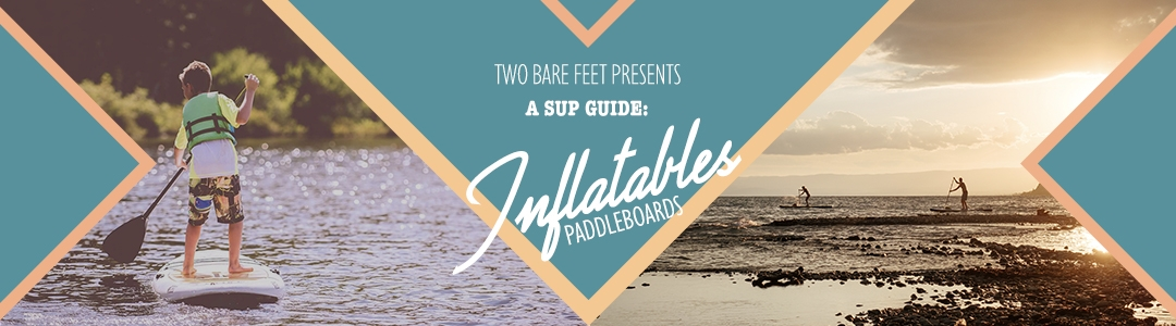 Inflatable SUP boards banner