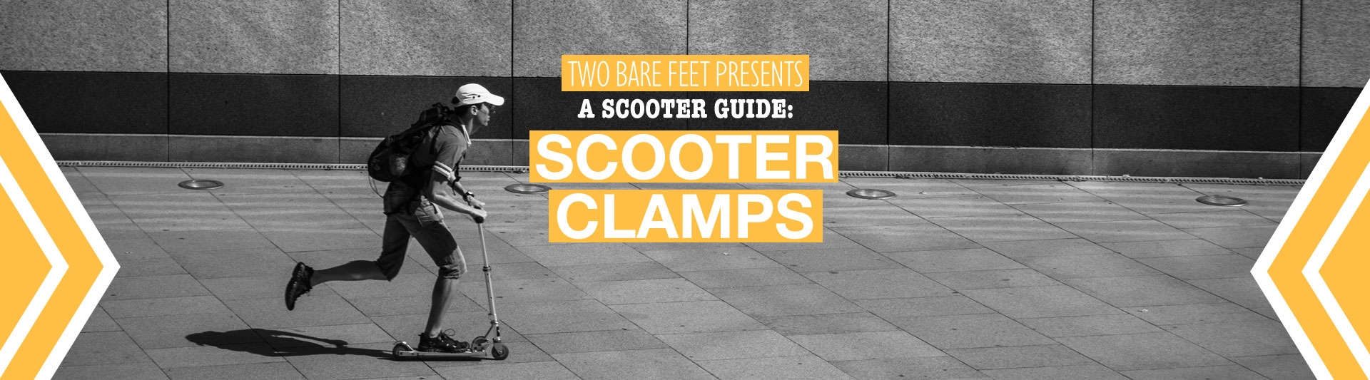Scooter clamp banner