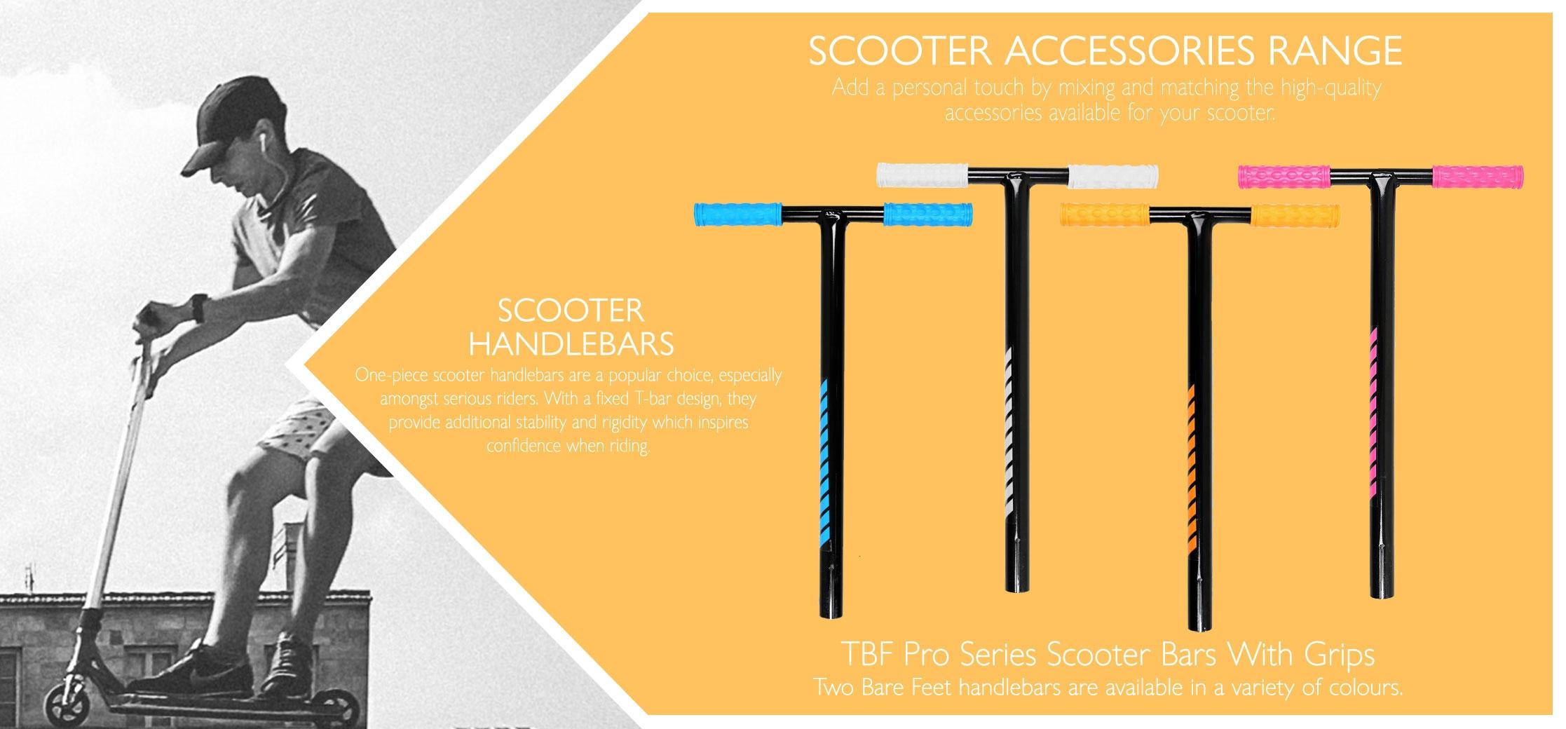 Scooter handlebars info