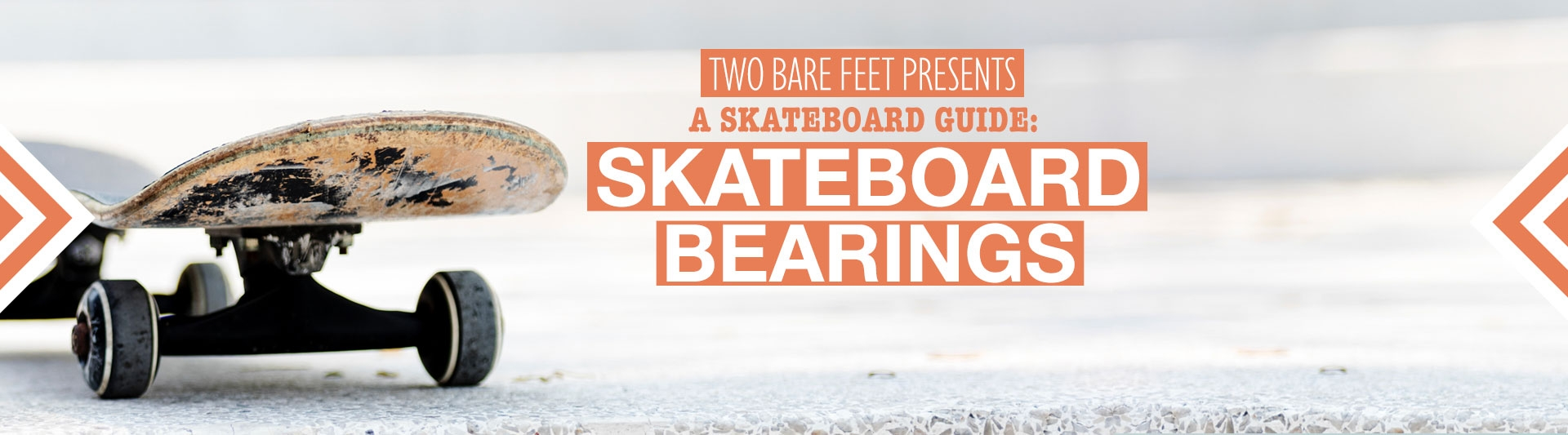Skateboard bearings banner