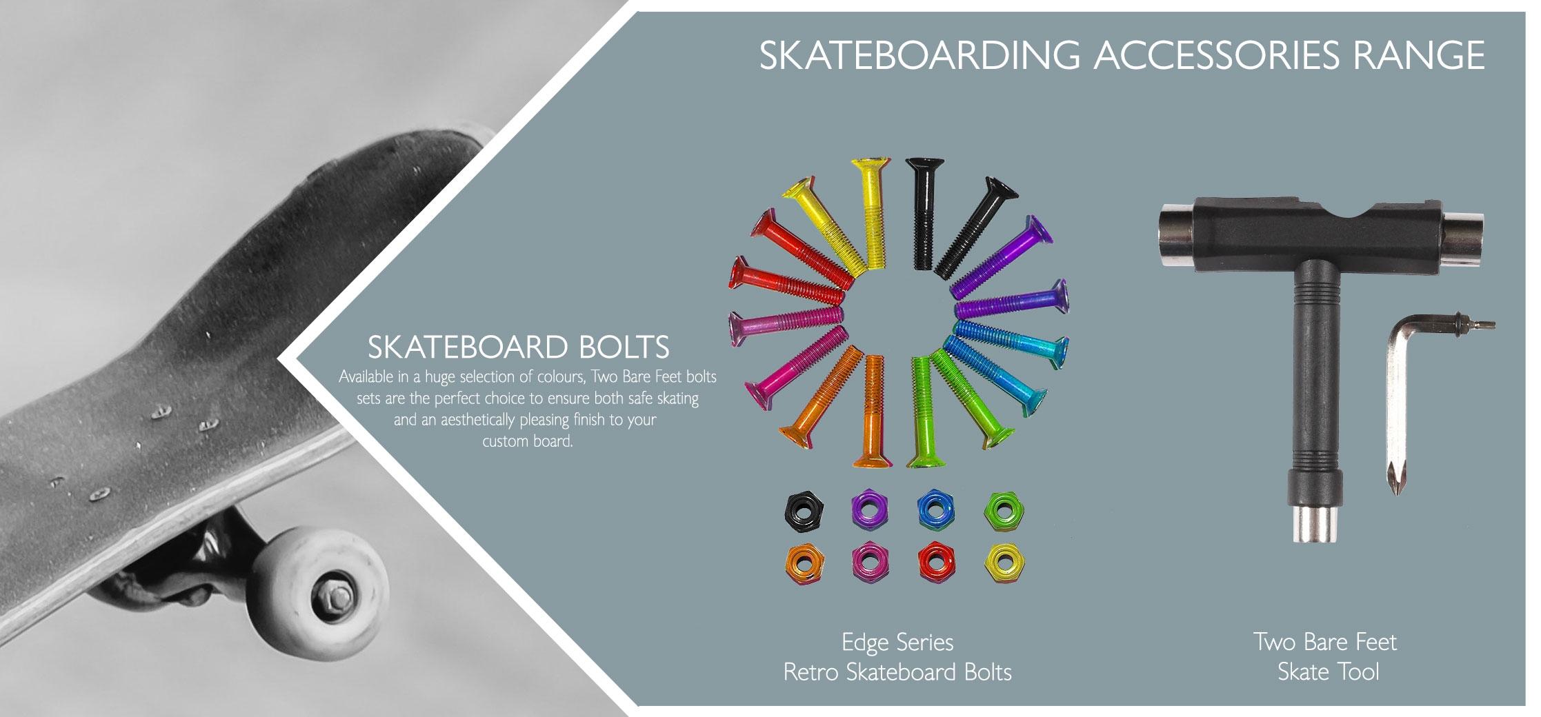Skateboard bolts info