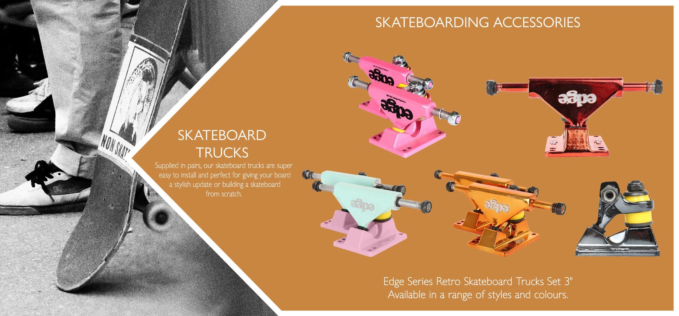 Skateboard trucks variations
