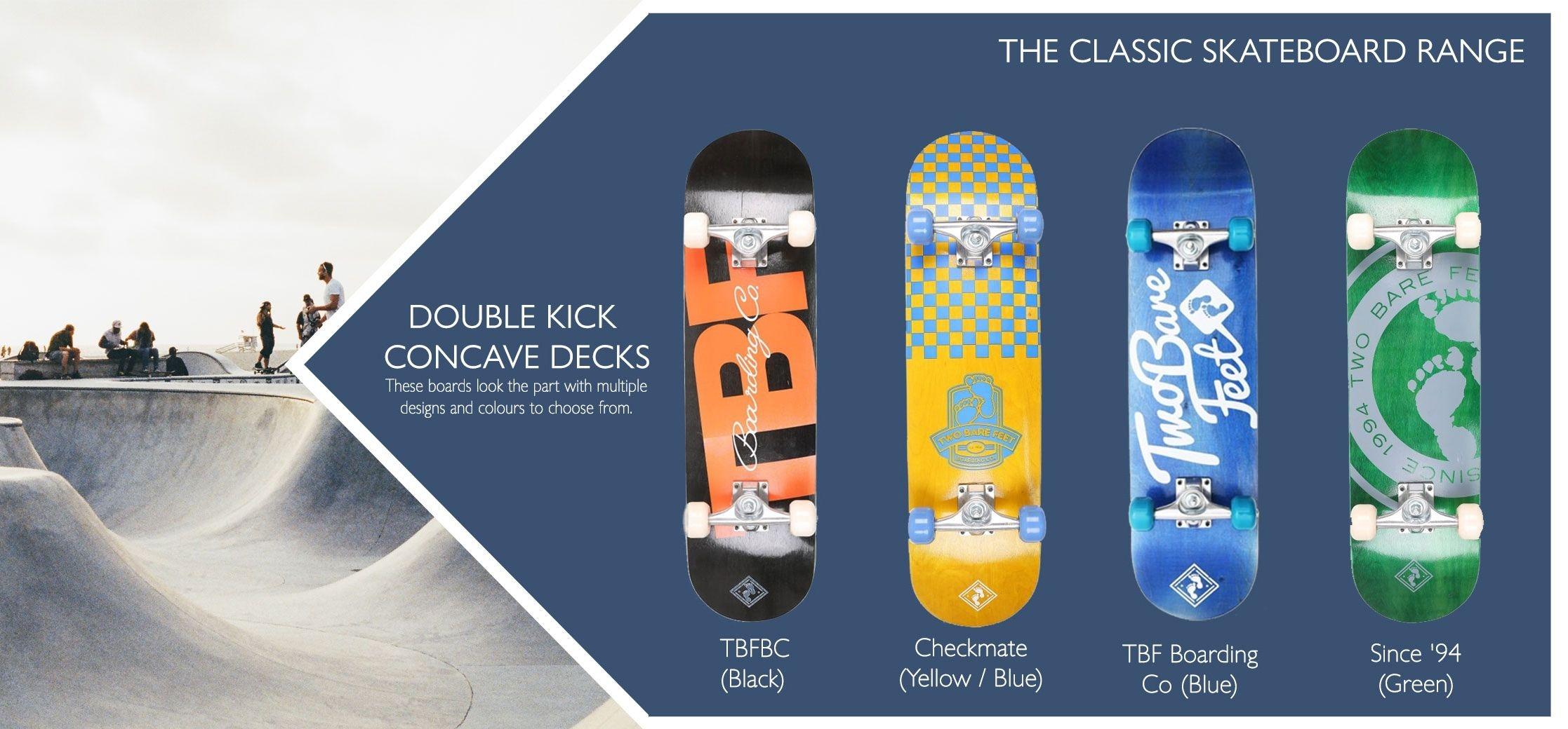 Classic skateboard info insert