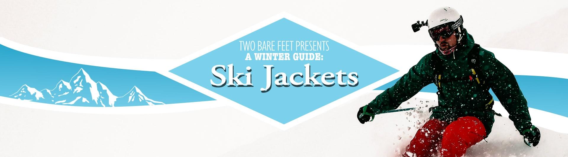 Men's ski jackets banner