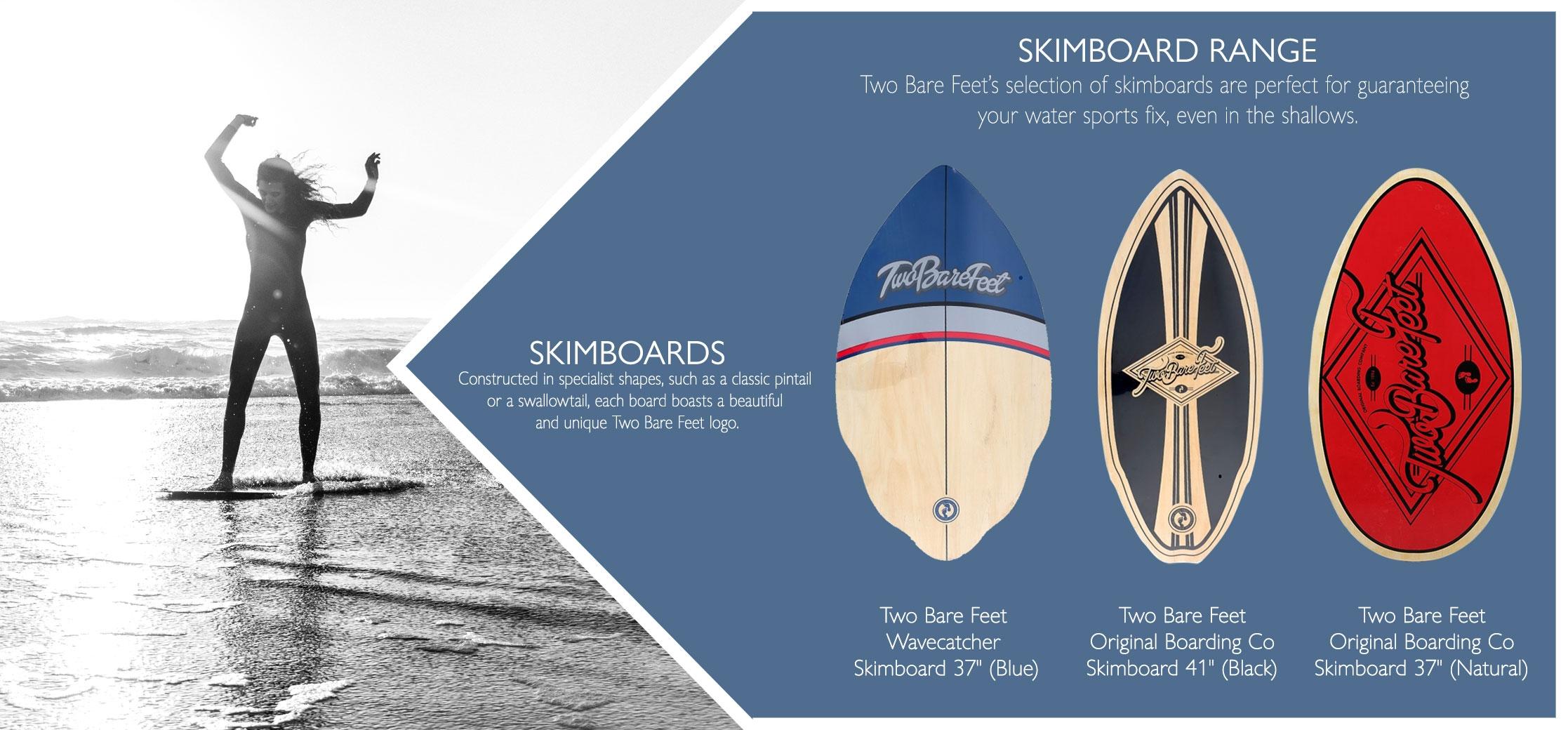 Skimboard types