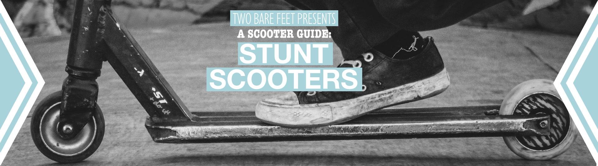 Stunt scooter banner