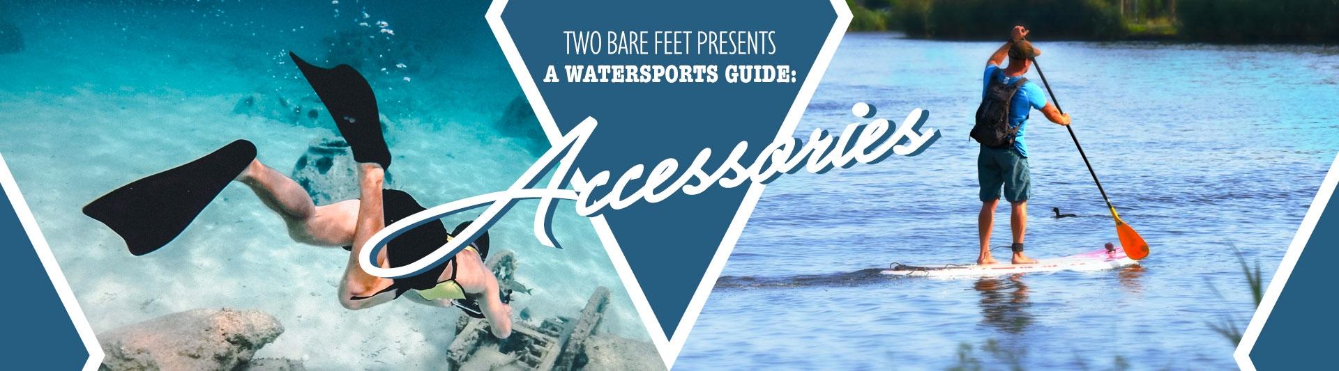 Watersport accessories banner