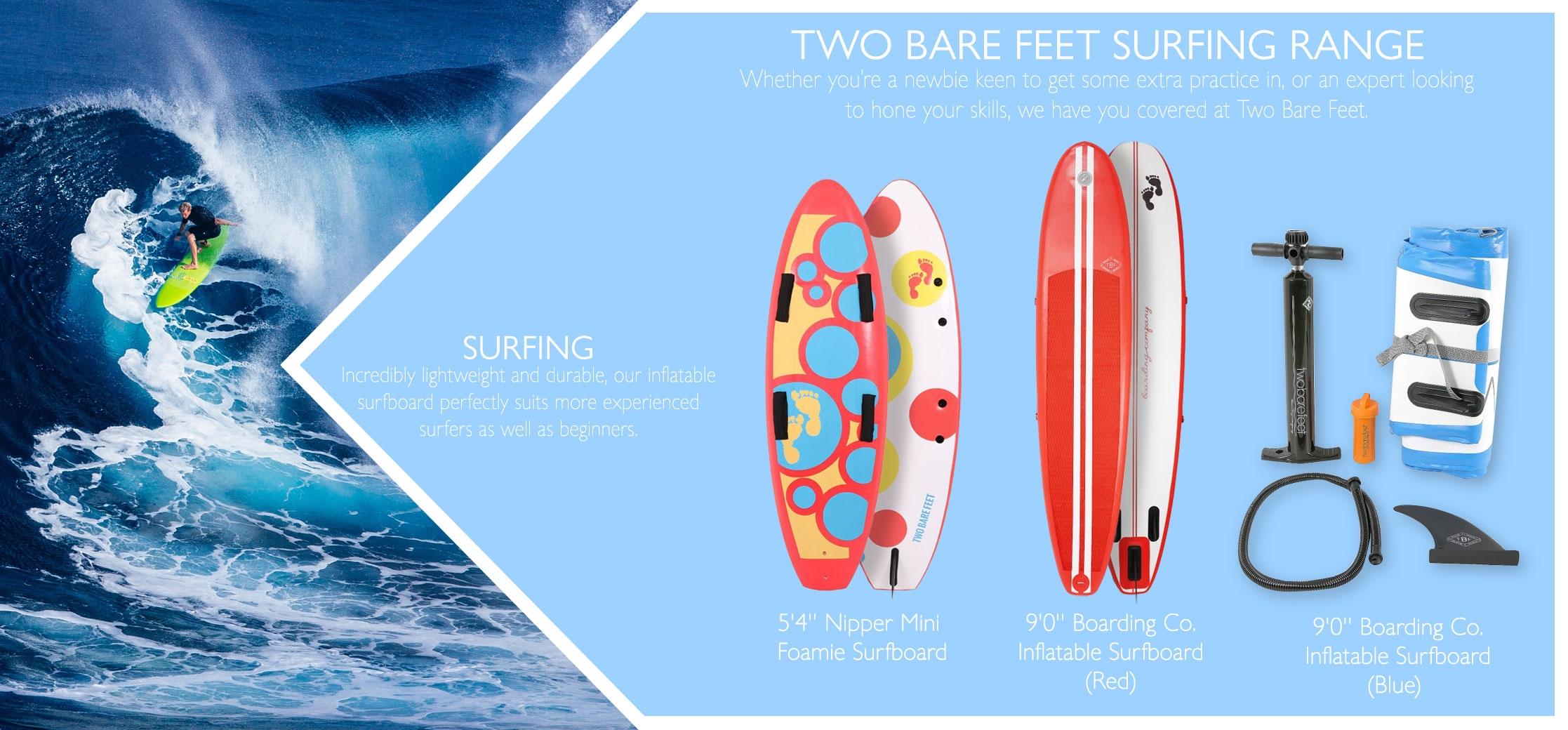 Surfing types