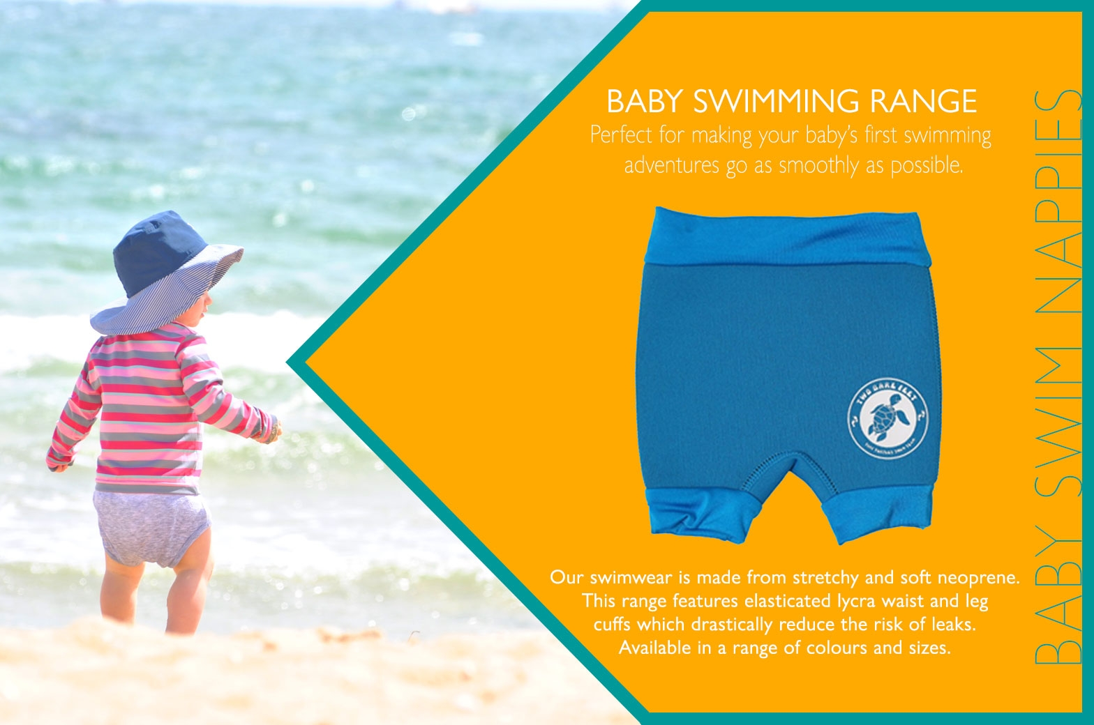 Baby Swim Nappies information