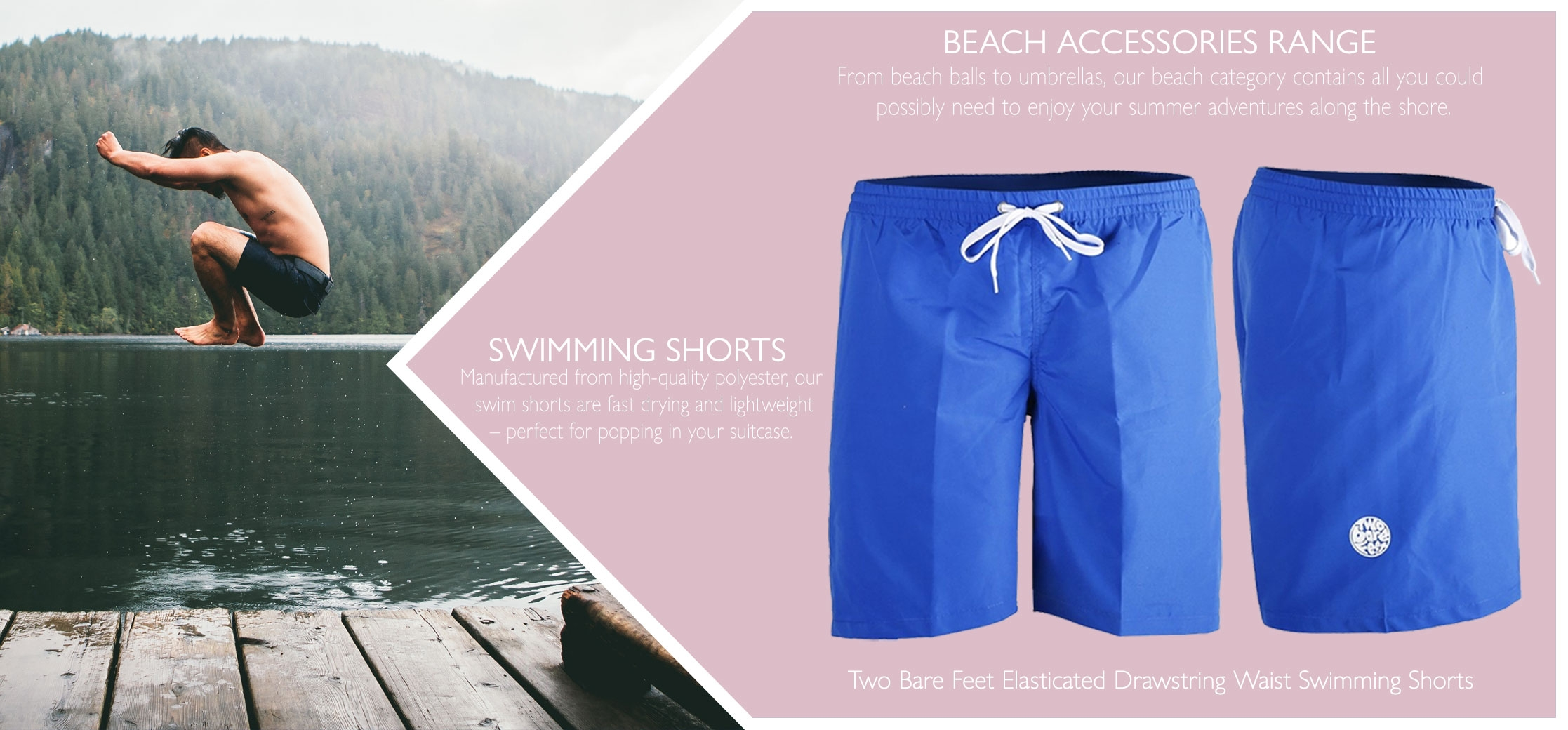 swimming shorts range