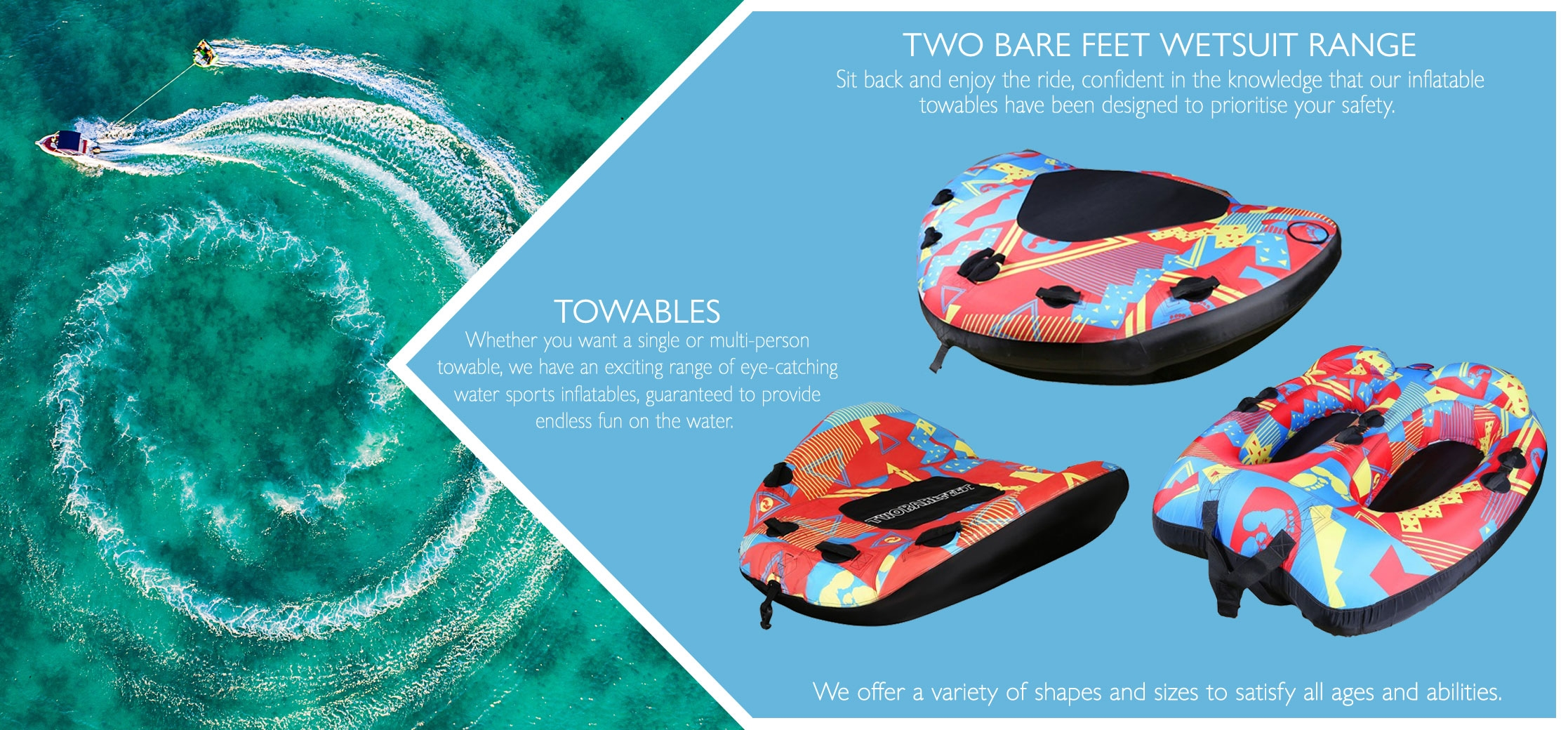 Towable products