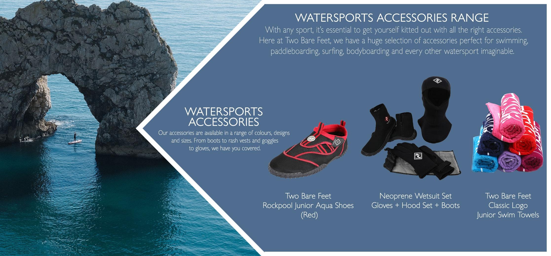 Watersport accessories types