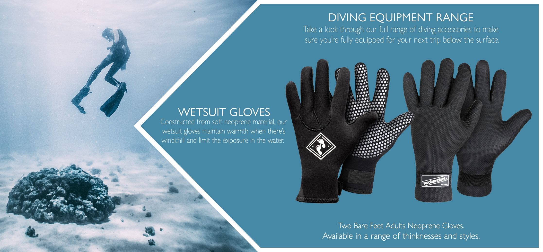 Wetsuit gloves types