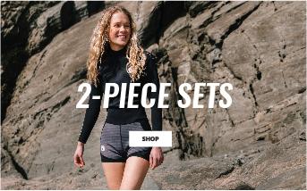 Womens 2 Piece Wetsuit Sets