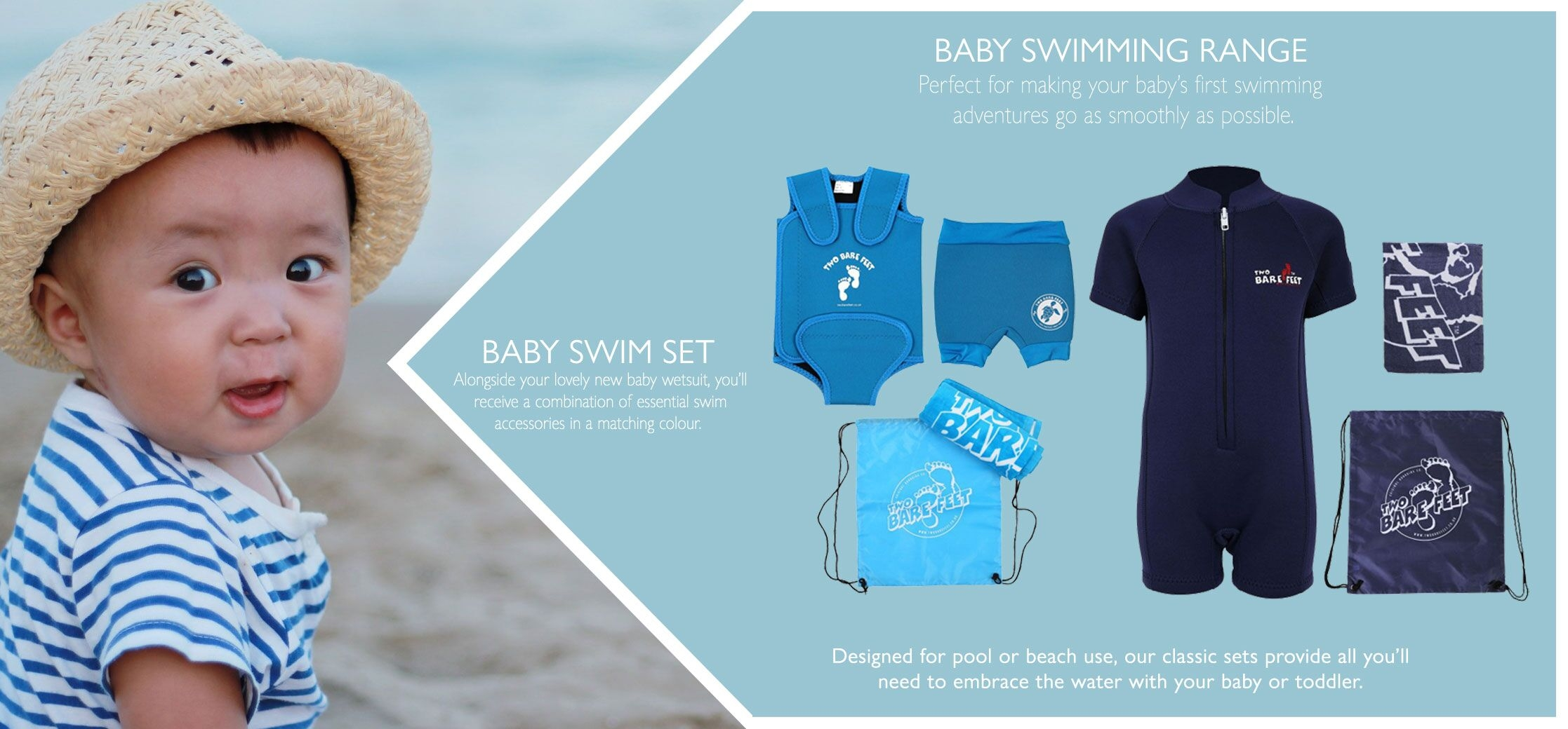 baby beachwear sets