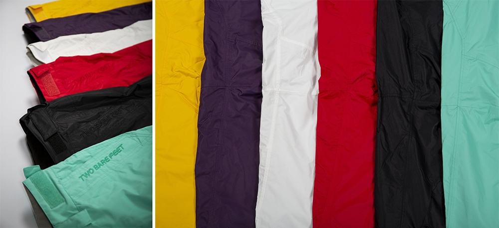 Multiple colour women's snow trousers