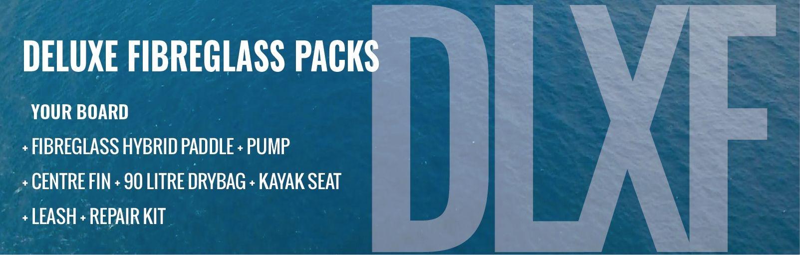 Paddleboard Deluxe Fibreglass Hybrid Accessory Packs