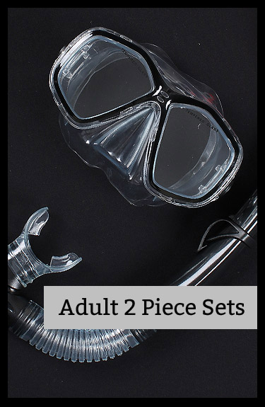 Shop for mask and snorkel 2 piece diving sets