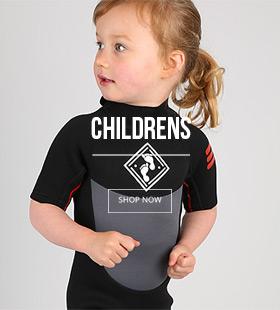 Two Bare Feet GLIDER Kids Childrens Shorty Wetsuit Boys /& Girls