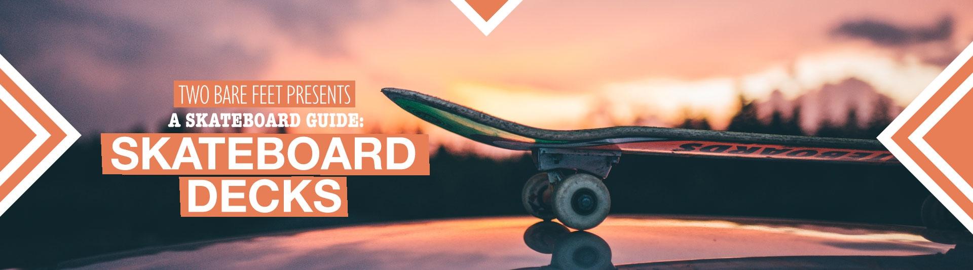 Skateboard decks banner
