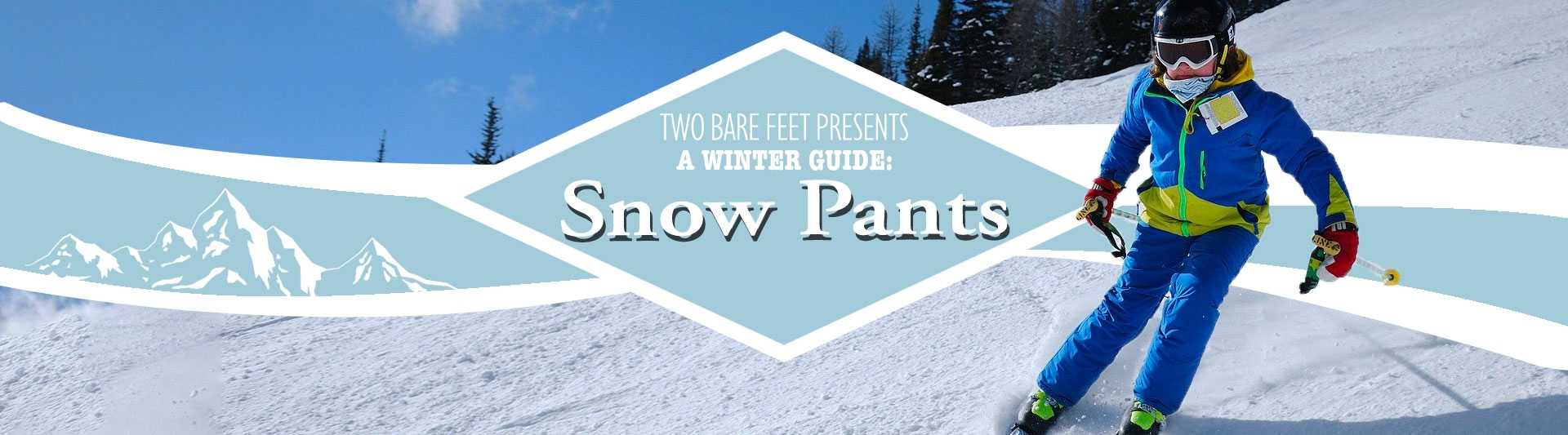 Women's snow trousers banner