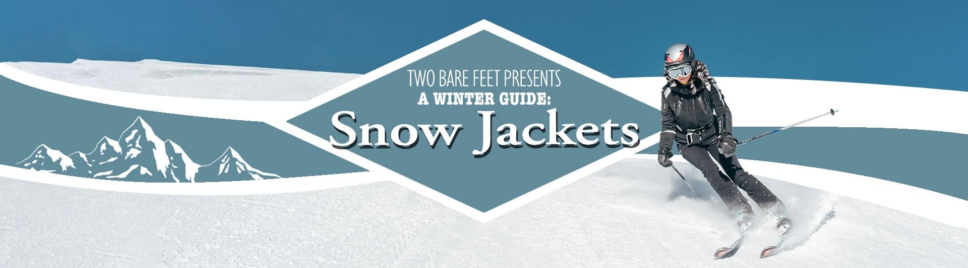 Women's ski jackets banner